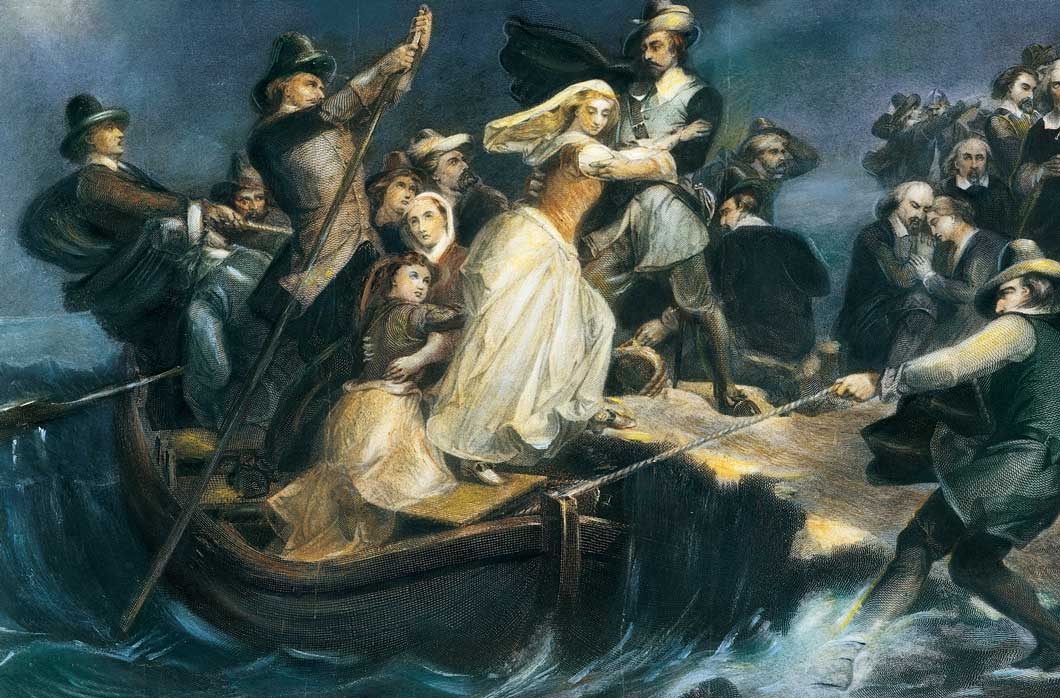 September 6th - Pilgrims set sail from Plymouth, England (1620)