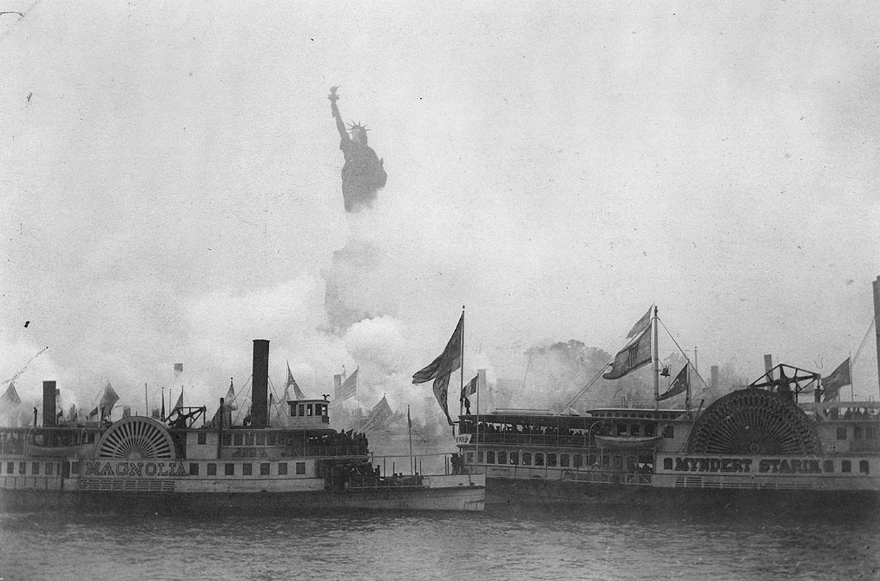 October 28th - Statue of Liberty was Dedicated to the U.S., 1886