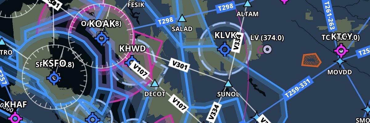 Enhancements to the Aeronautical Map