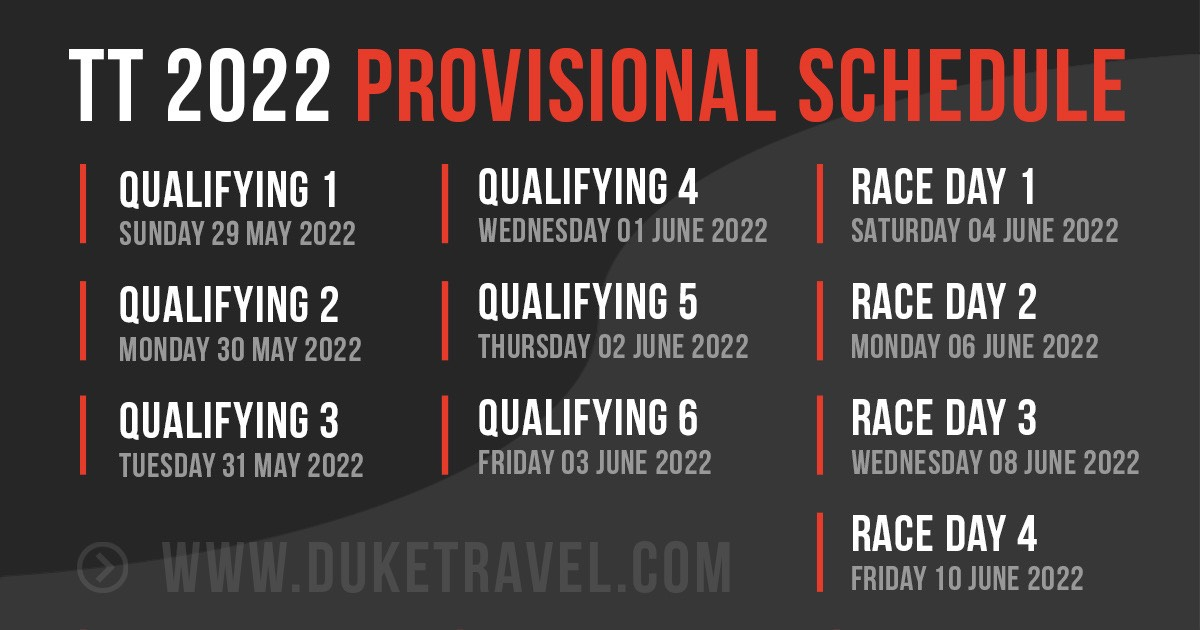 Provisional                                                 Schedule released