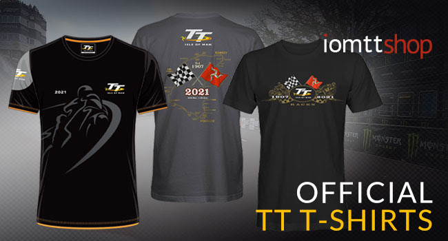 Official Isle of                                                 Man TT Races T-shirts